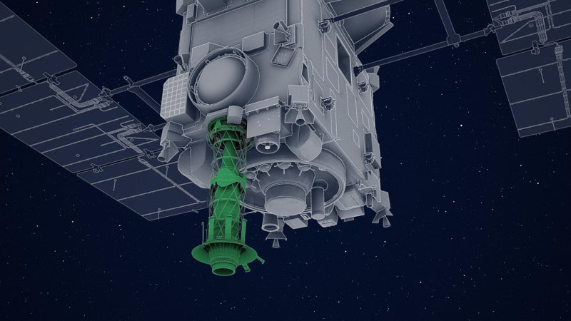 système collecte échantillons astéroide Hayabusa