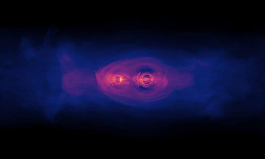 trous noirs binaires pourraient avoir électrons gravitationnels couv