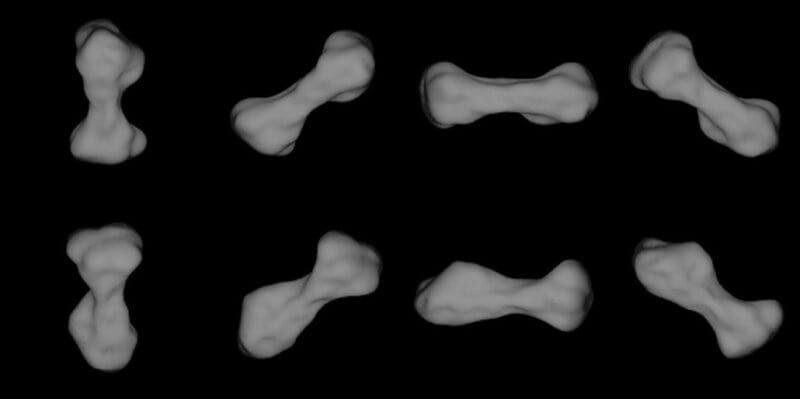 asteroide forme os arecibo