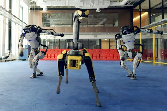 robot danseur boston dynamics