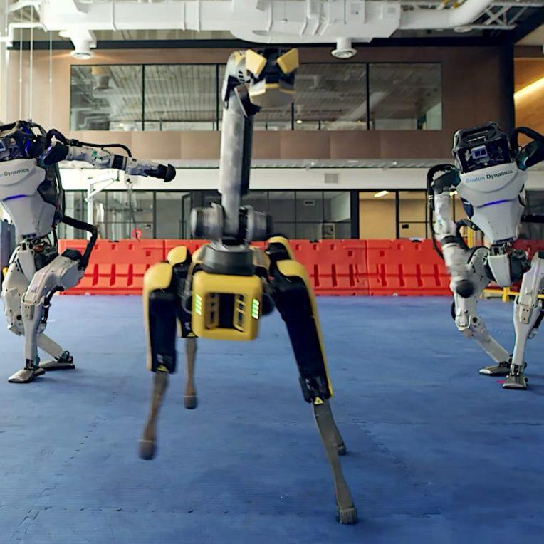 robot danseur boston dynamics