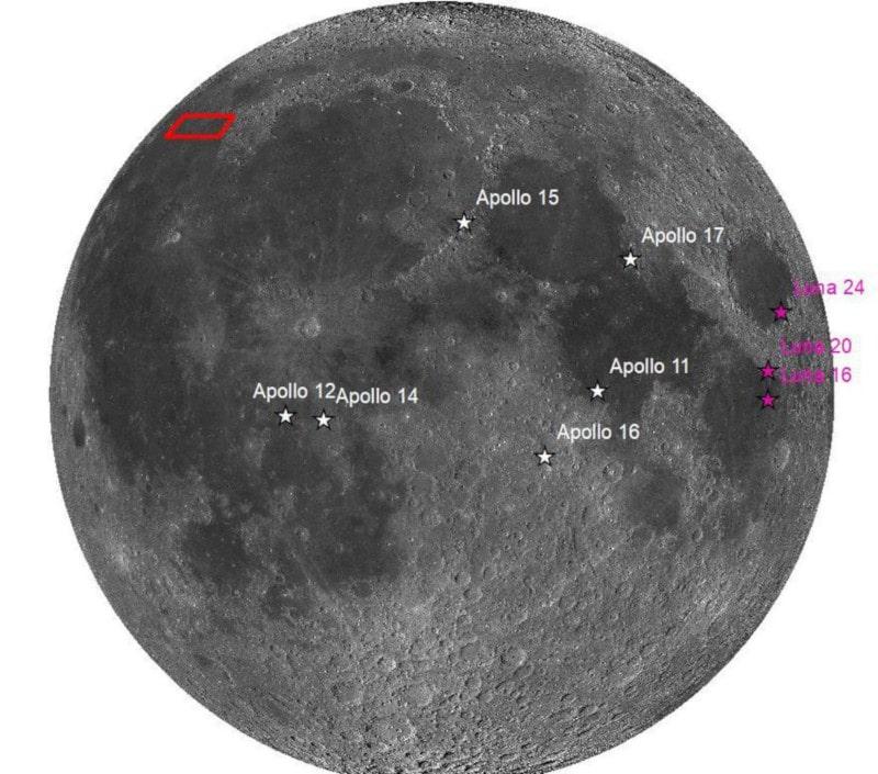 lunar missions card