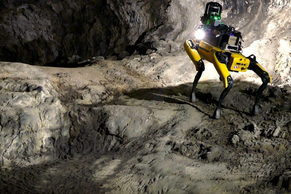 chien robot boston dynamics au-spot exploration mars