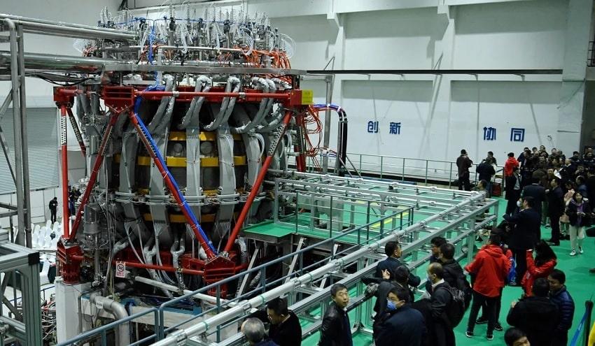 coeur reacteur fusion nucleaire hl-2m
