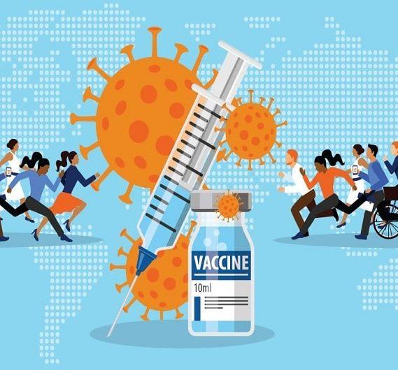 comment vaccins repartis travers monde