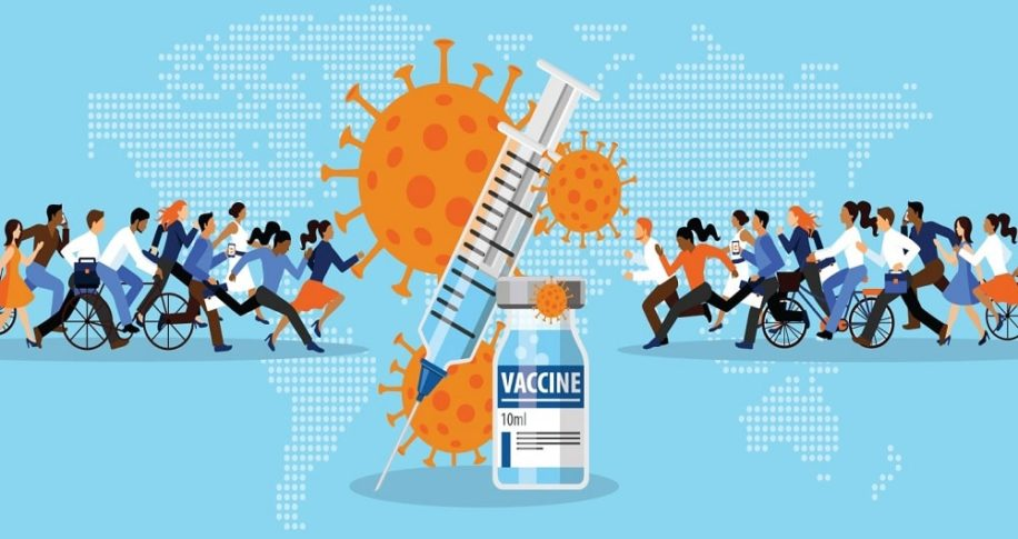 comment vaccins repartis travers monde