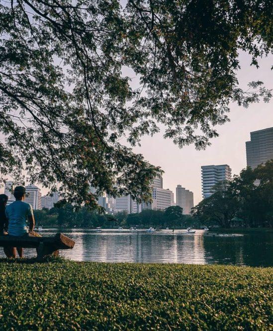 espaces verts réduction stress