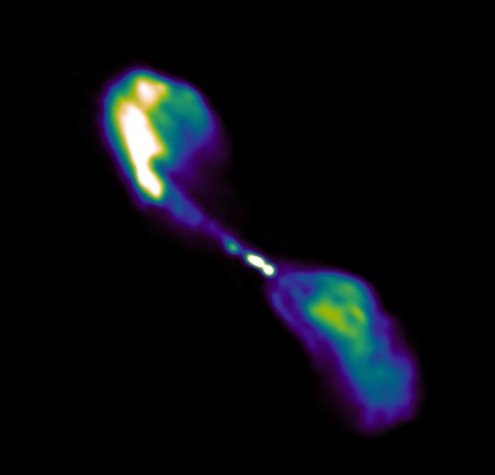 galaxie centaure a observation RACS