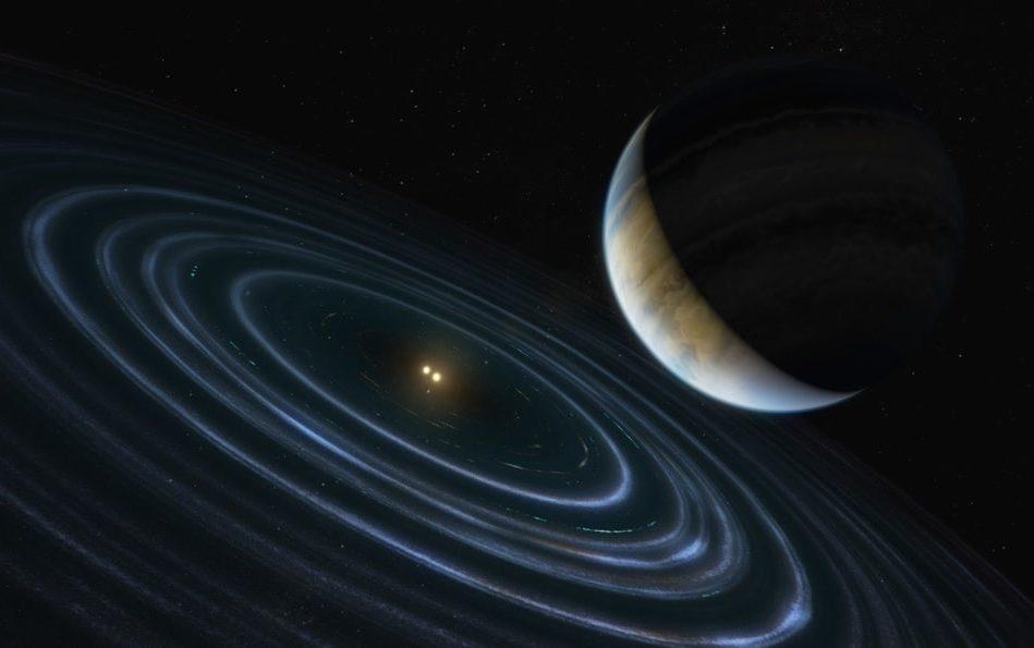 hubble detecte exoplanete proprietes orbitales inhabituelles