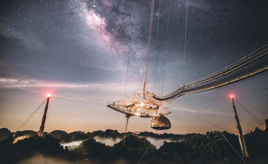huit decouvertes majeures realisees par telescope arecibo