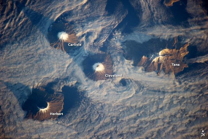 îles des quatre montagnes