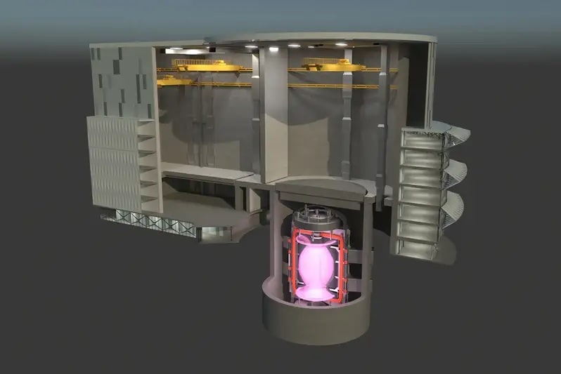 image centrale fusion nucleaire step