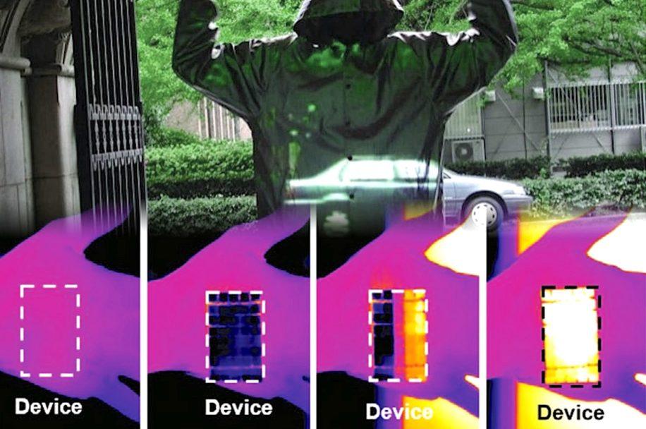 innovation peau artificielle rendant invisible meme cameras thermiques