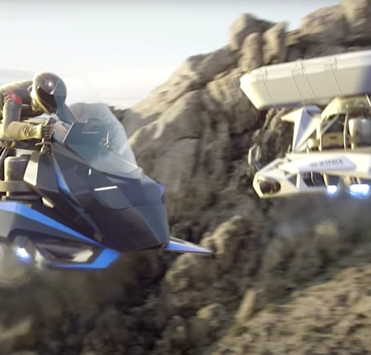 moto volante speeder jetpack aviation
