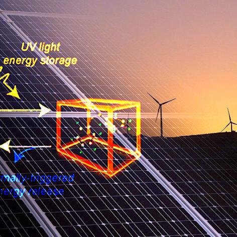 materiau prometteur stocker energie solaire pendant mois