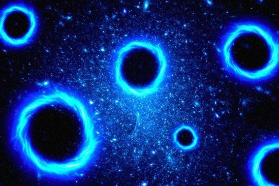matiere noire trous noirs primordiaux multivers