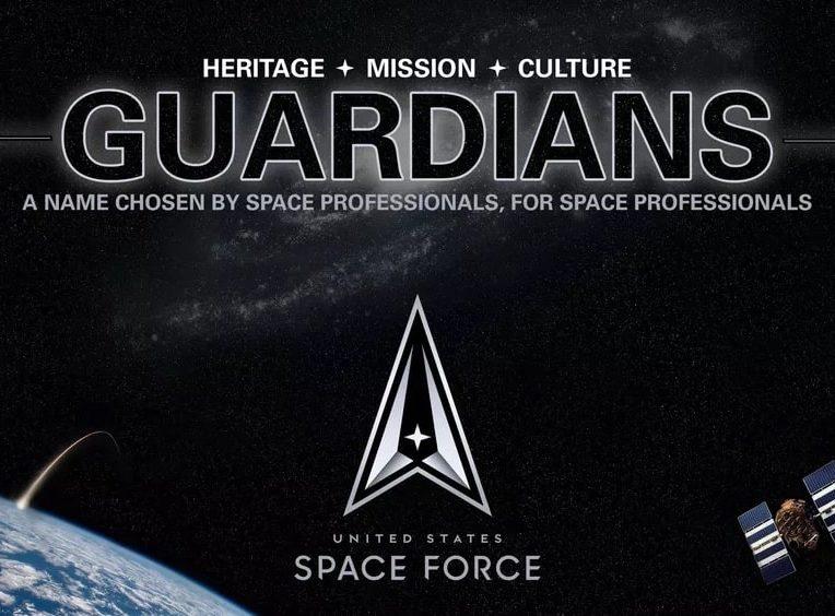 membres space force etats-unis gardiens
