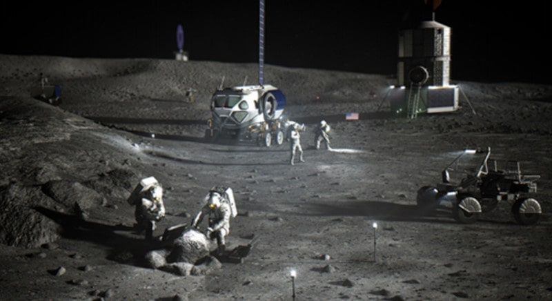 opérations explorations lunaires