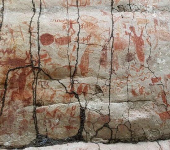 site peintures rupestres amazonie