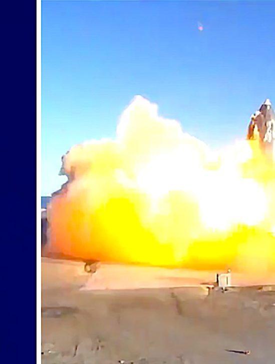 pourquoi lancement starship termine par explosion-elon-musk-explique