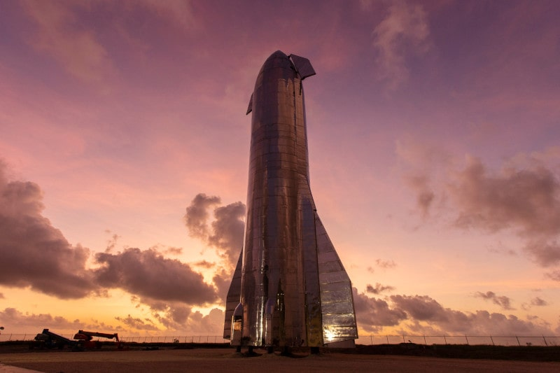 prototype starship spaceX
