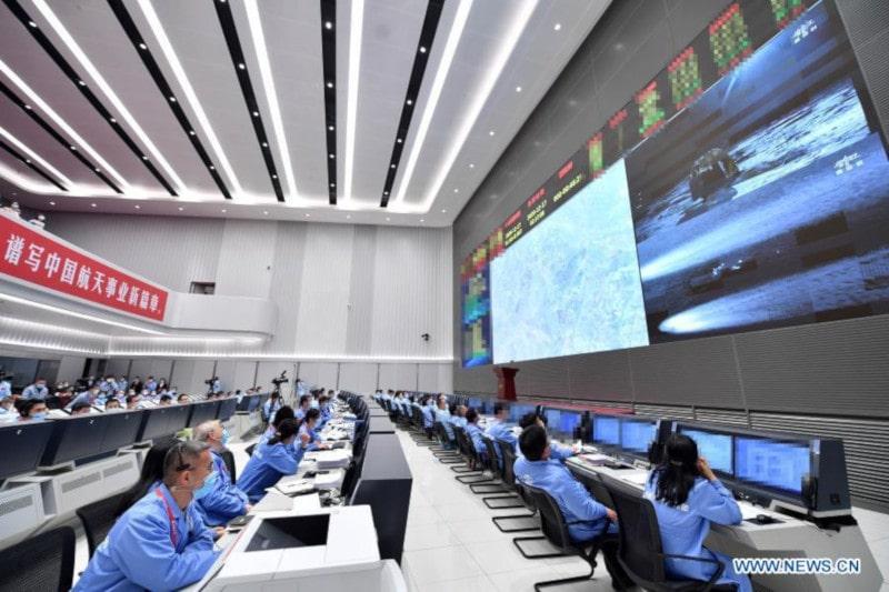 retour capsule sonde chinoise