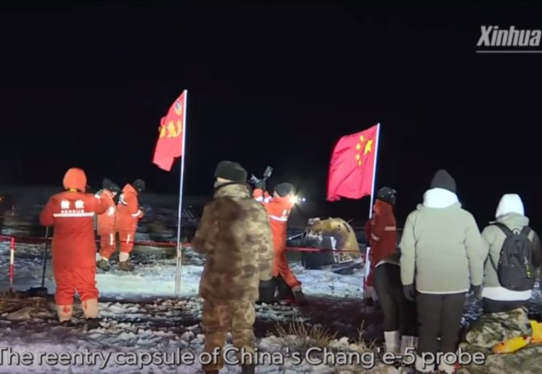 retour échantillons lune sonde chinoise