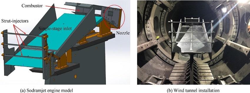schema structure prototype sodramjet tunnel vent