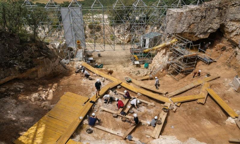 site fossile humain la sima