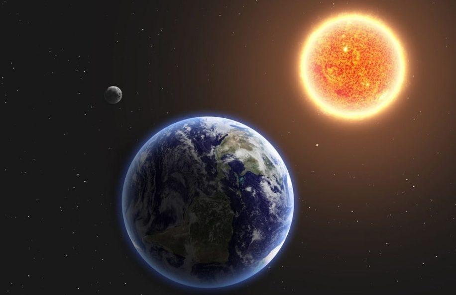 soleil potentielle lentille gravitationnelle obsever exoplanetes