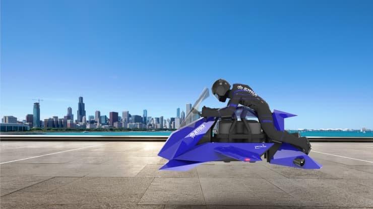 moto volante speeder jetpack aviation
