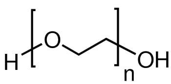 structure chimique PEG