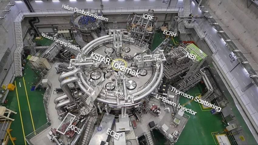 structure composantes kstar fusion