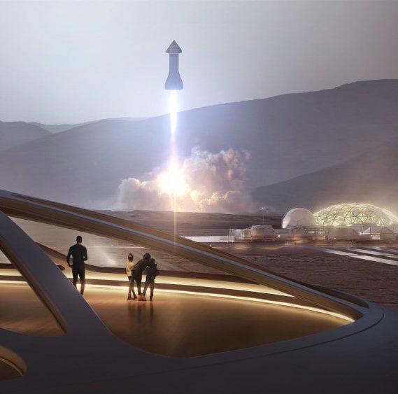 voyage mars spaceX 2026