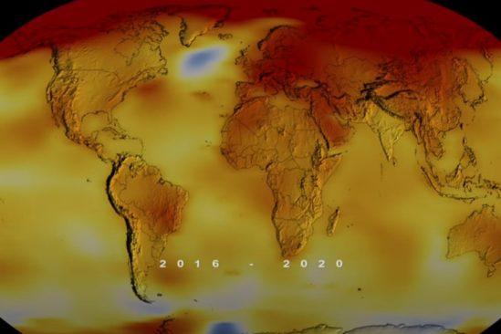 records températures mondiales 2020