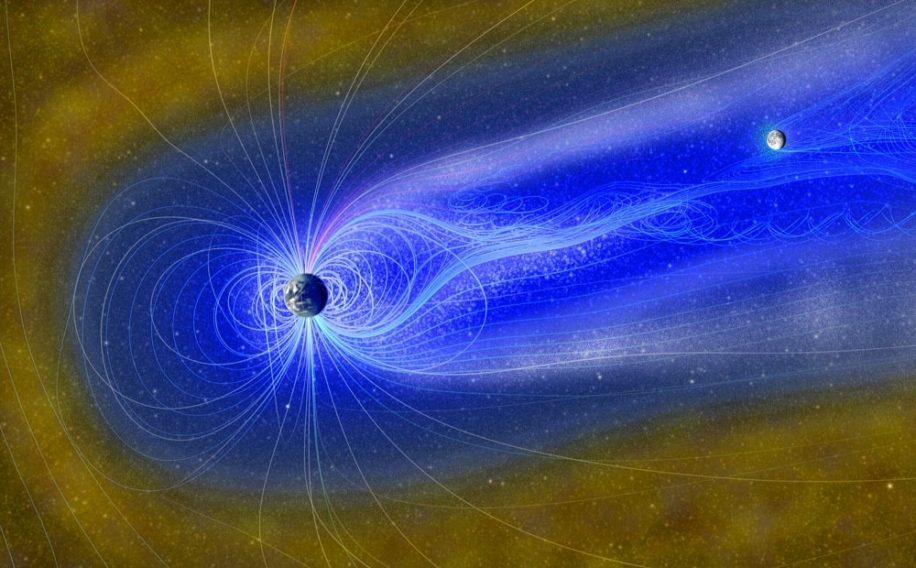 eau lunaire creee par magnetosphere terrestre