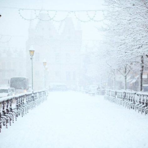 prédiction vague froid Europe vortex polaire