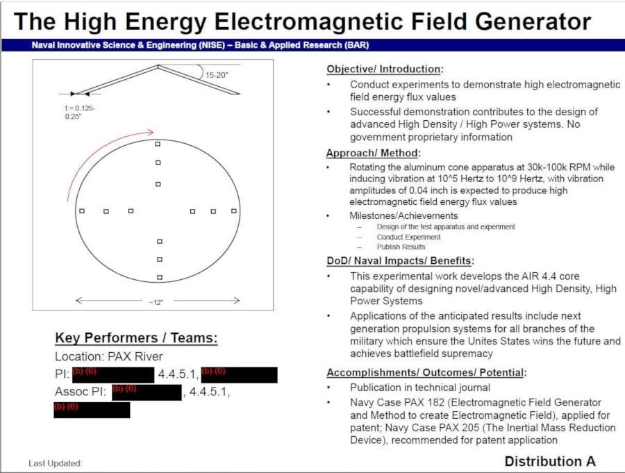 générateur champ électromagnétique haute fréquence