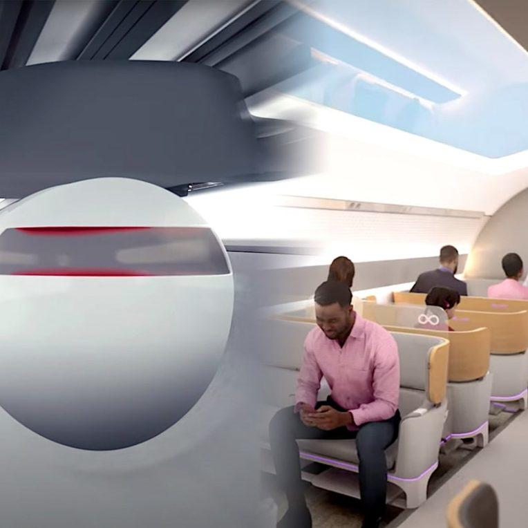 simulation voyage hyperloop video