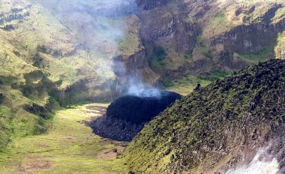 soufriere saint-vincent volcan actvite