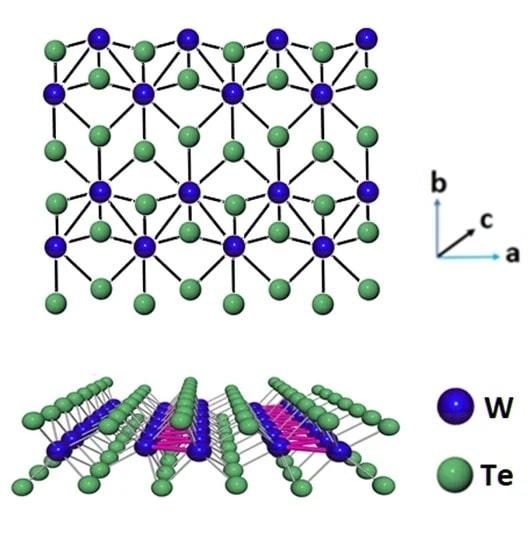 structure ditelluride tungstene