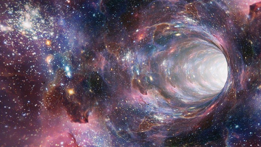 détection trous de ver univers