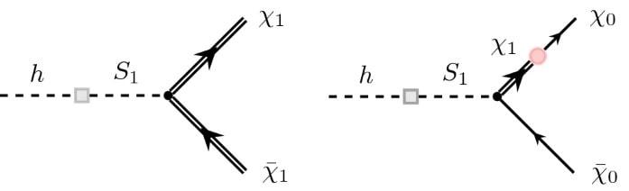 diagramme generation boson higgs matiere noire