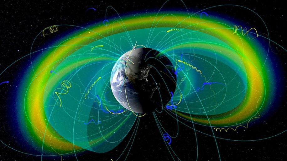 electrons voyageant vitesses proches celle lumiere autour terre enfin expliques