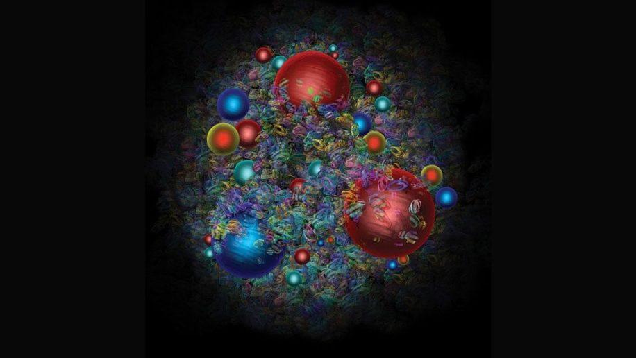 etrange desequilibre antimatiere existe dans protons