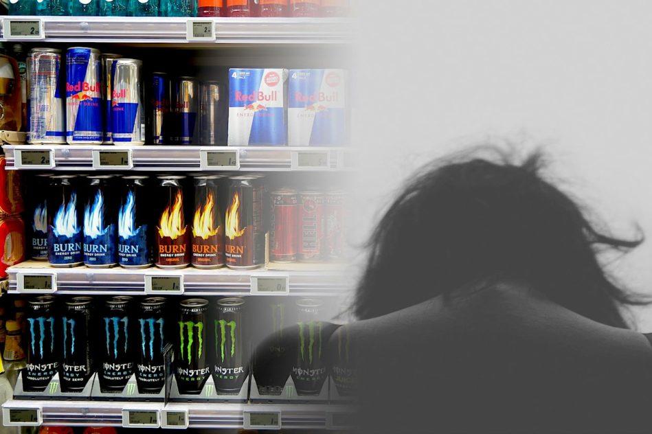 lien entre consommation boissons energisantes et depression anxiete stress