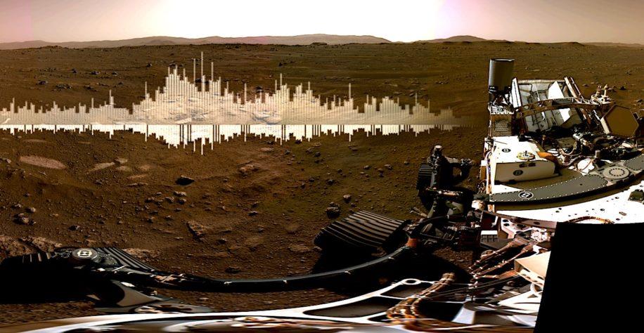 Perseverance : la vidéo spectaculaire de l'atterrissage sur Mars !