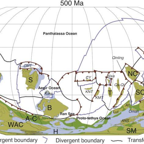 mouvements plaques tectoniques
