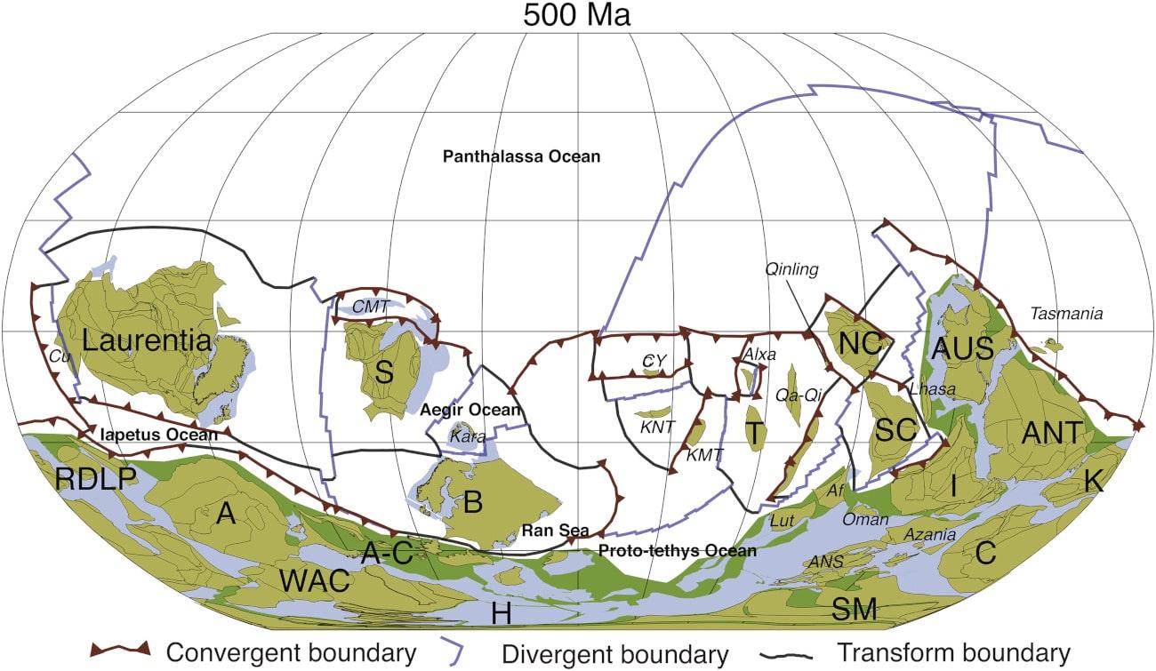 Un milliard d'années de mouvements de plaques tectoniques résumés en 40 secondes ! (VIDÉO) - Trust My Science