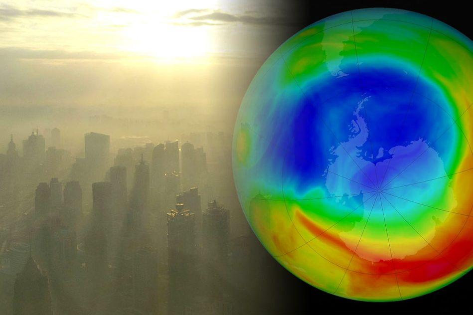 recente baisse emissions co2 chine pourrait accelerer regeneration couche ozone